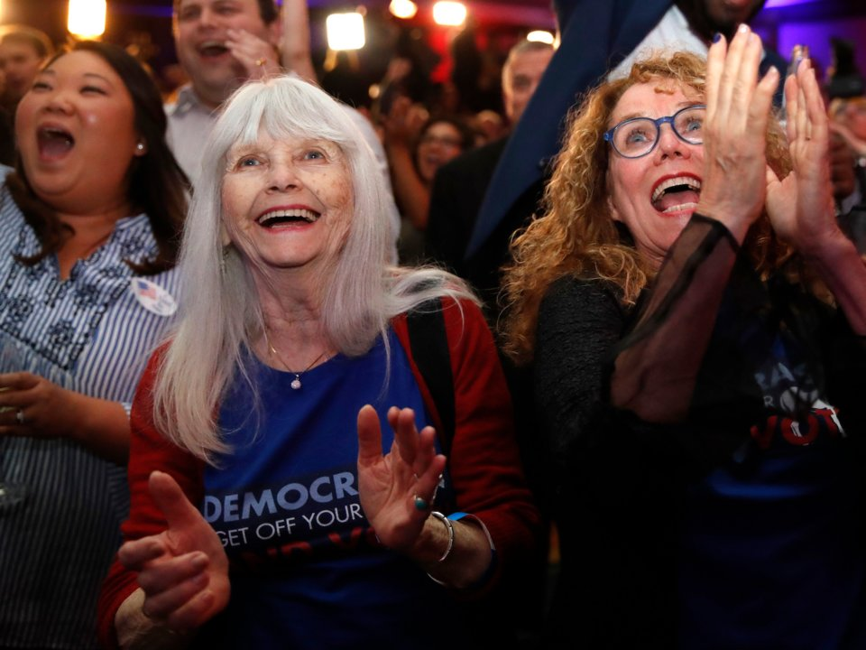 Photos that perfectly capture the history-making wave of women who won on Congress Election Day